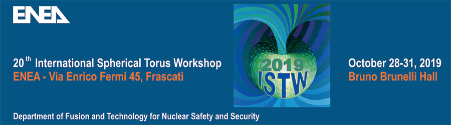 20th International Spherical Torus Workshop (ISTW2019)
